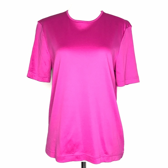 Saks Fifth Avenue Tops - 🌈 Saks Fifth Avenue Collection Pink Top A030637